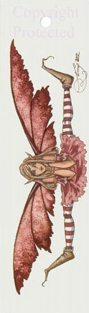 Amy Brown Bookmark Fairy Fairy Pink Believe