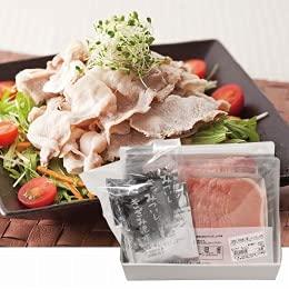 【2021夏ギフト】 日本の米育ち 三元豚ロース300g・バラ冷しゃぶ250gギフト【冷凍】JHS-16