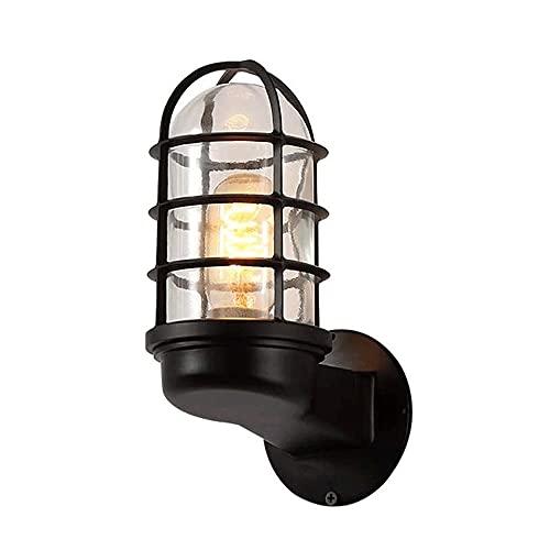 XXHH WDH-00 Lámpara De Pared De La Pared De La Barra del Pasillo De La Escalera Creativa Lámpara De Pared A Prueba De Explosiones De La Explosión De La Explosión del Hierro Al Aire Libre (sin Bulbo)