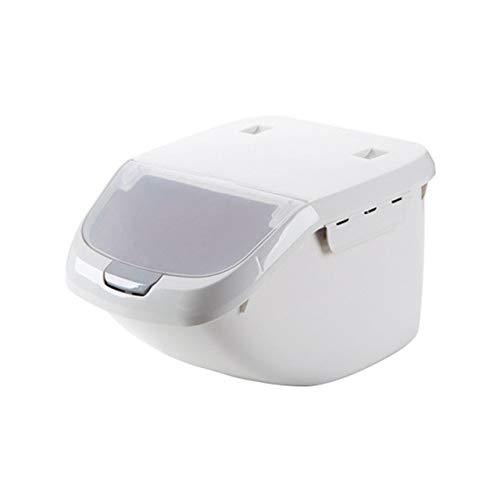 Rijst Opbergdoos Grote Capaciteit Graan Graan Dispenser Flip Deksel Voedsel Organizer Container Draagbare Organizer Kitchen Tools-01, Verenigde Staten