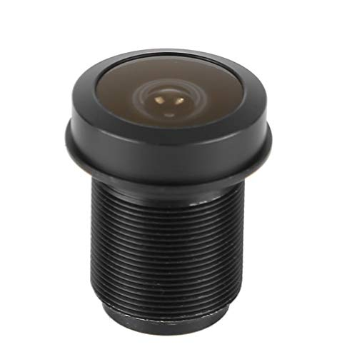 Standaard M12 schroefdraadinterface 180 ° Fisheye-lens, 1,44 mm 1/2,5-groothoek-5MP-HD-lens voor CCTV-bewakingscamera's