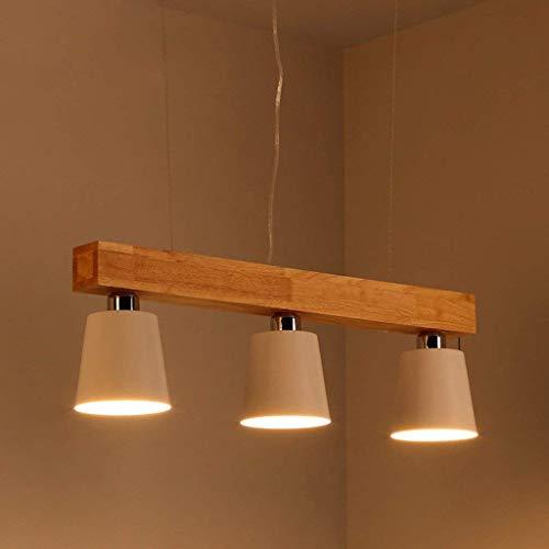 JIAN Exquisite Lighting plafondlamp ZjNhl moderne lamp accessoires verlichting hout ijzer 70 x 22 cm LED-licht