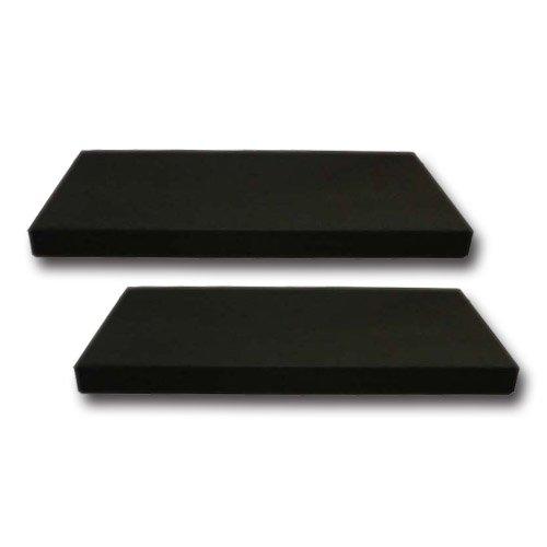 東京防音 アップライトピアノ用 防音装置 湿度ピタット フロア用 S-009 (カバー付:黒) 2枚入