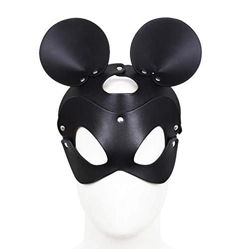 Roo-16HAO Máscara de Cuero de Juguete de Halloween Juegos de rol Accesorios de Vacaciones Regalos -762