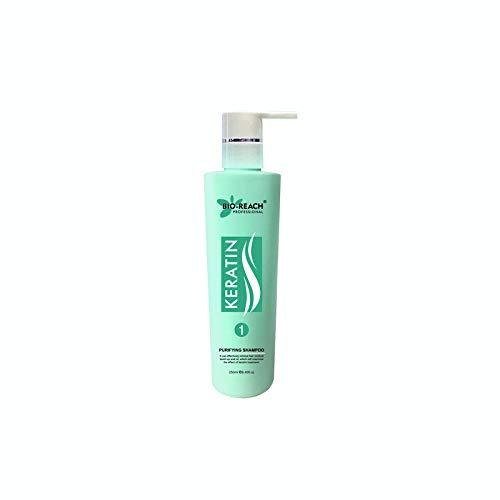 Bio Reach KERATIN Purifying Shampoo 250ml For Hair Buil Up