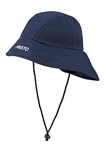 Musto Sou'Wester Hat in Navy Blue - Unisex - Perfect for Yachting in Summer - Waterproof and Breathable