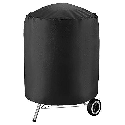 Copertura Barbecue 24 X 24 X 28.5 Cm, Impermeabile Telo Protettivo Per Barbecue Rotondo Protezione Telo Copri Barbecue, Universale Anti-UV Prova Di Strappo Coperchio Griglia