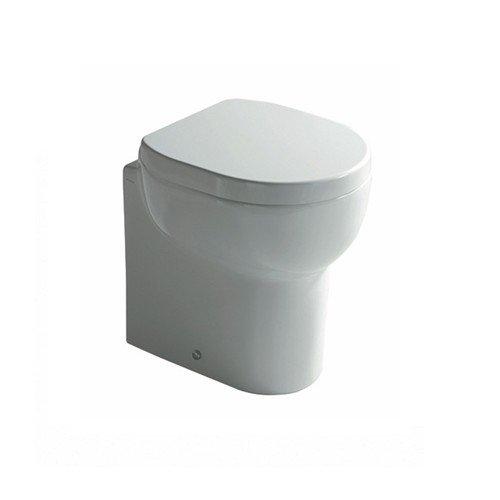 GALASSIA serie M2 5211U Vaso a terra 45 cm. scarico universale finitura bianco