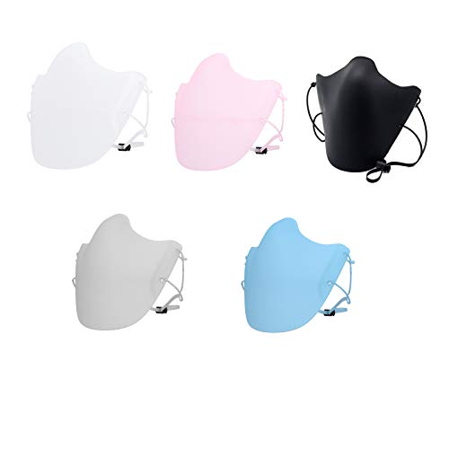 Reusable Silicone Face Msaks (5 Colors)