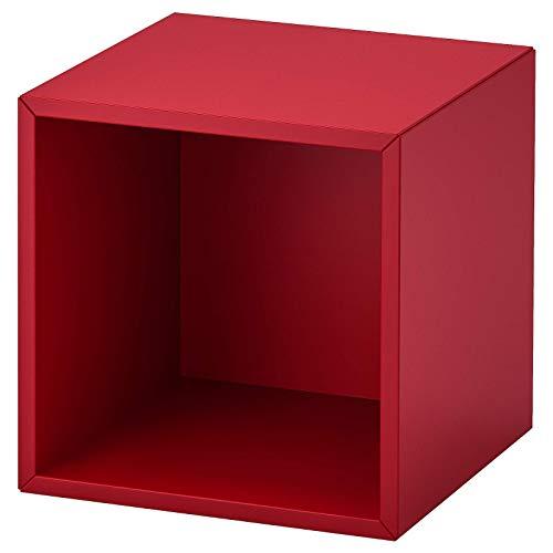 IKEA EKET Regalelement Schrank wandmontiert rot 35x35x35 cm