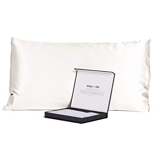 Fishers Finery 30mm 100% Pure Mulberry Silk Pillowcase, Good...