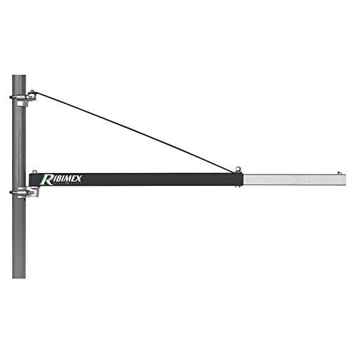 Ribimex PP120 Supporto a bandiera per paranco 1,10 m