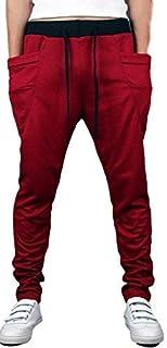 [フォーリーフ] お洒落 ジョガー パンツ スウェット メンズ 2 ポケット付き カラバリ 豊富