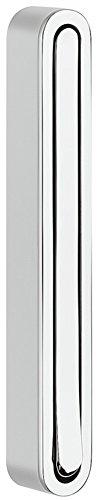 Moderner Klapphaken zum Schrauben Wand-Garderobe Paneel Kleiderhaken klappbar - H8000 | Metall silber eloxiert | Wand-Montage Kleiderlüfter | MADE IN GERMANY | 1 Stück - Design Garderobenhaken