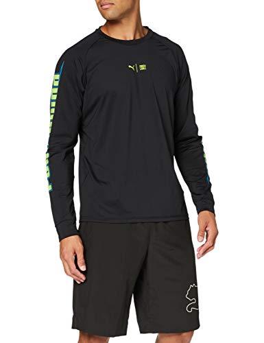 PUMA Herren Train First Mile Xtreme Long Sleeve Tee T-Shirt, Black, S