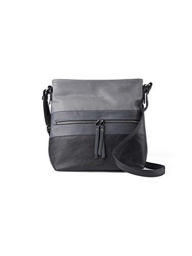 TOM TAILOR Damen Taschen & Geldbörsen Hobo-Tasche Ellen schwarz/Black,OneSize