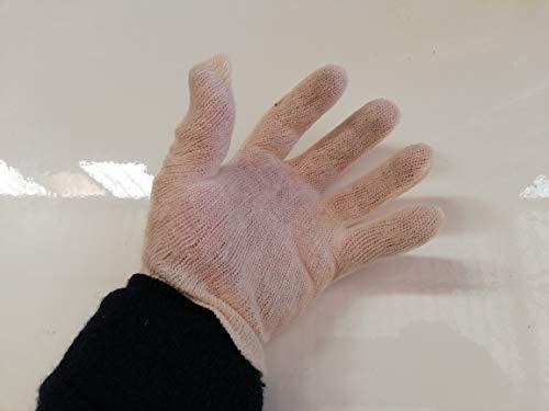 100 paia Sottoguanti , guanti Cotone , Sottoguanto Per Guanti da lavoro , in cotone naturale anallergico anallergici