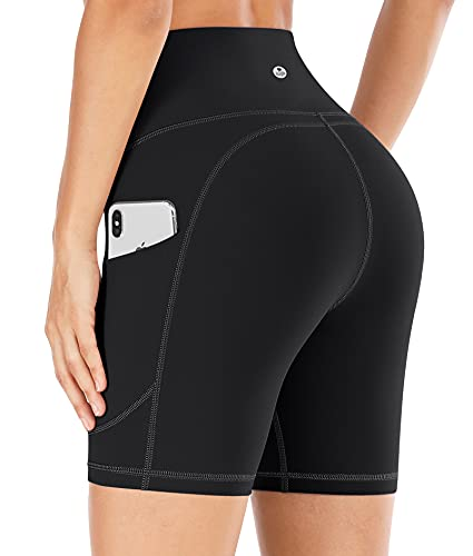 IUGA Workout Shorts for Women with Pockets High Waisted...