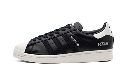 adidas Superstar (schwarz/weiß) - 43 1/3 EUR · 9 UK