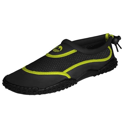Lakeland Active Men's Eden Aquasport Water Shoes - Black/Hot Lime - 9 UK