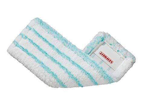Leifheit Profi micro duo Vloerwisser, voor alle soorten vloeren, vervangende overtrek voor ideale vuilopname dankzij 2-vezels-systeem, microvezel-wisserovertrek ideaal voor tegels en laminaat