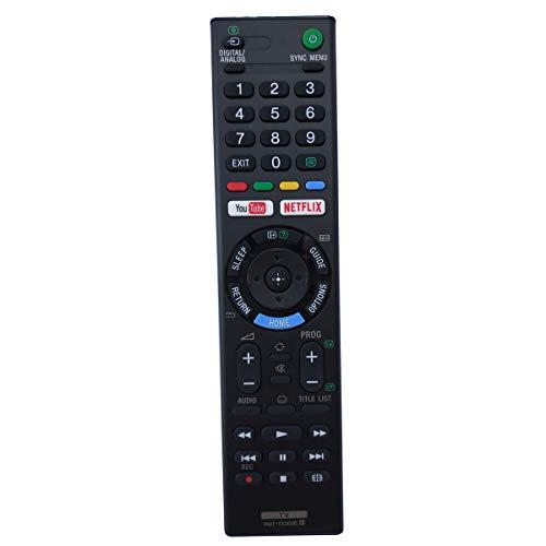 Universal Remote Compatible for Sony TV KD49X720E KD55X720E X690E Series KD60X690E KD70X690E KD-70X690E
