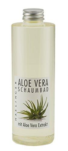 Lashuma Aloe Vera Schaumbad mit Aloe Vera Extrakt, Wohltuender Entspannungs Badeschaum, Badezusatz Füllmenge 400 ml