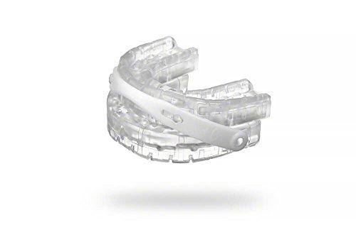 Premium Anti-Schnarchschiene SomnoFit - mit Ergänzungsset Nasenspreizer - Top-Snorestoppers gegen Schnarchen - (SomniShop Set)