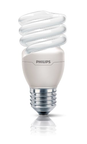 Energiesparlampe Tornado 15 Watt 865 E27 - Philips 15W Tageslichtweiß