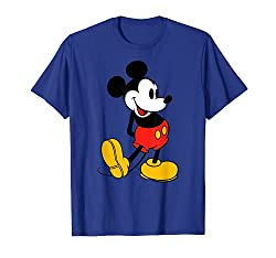 Best clothing styles for Disney Classic Mickey Mouse T-Shirt