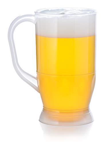 Plastic Beer Mug (1 liter) with Handle