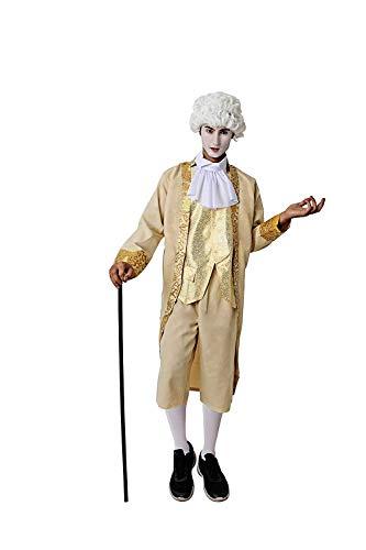 Costumizate! Disfraz de época para Hombre Adulto Especial para Fiestas de Disfraces y Carnaval Talla Unica