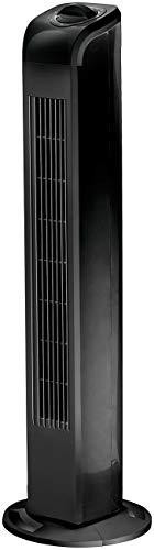 Sichler Haushaltsgeräte Standlüfter: Turmventilator mit 3 Geschwindigkeits-Stufen und 90° Oszillation, 50 W (Standventilatoren)