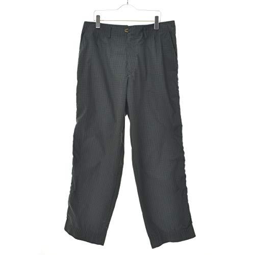 (カラー) kolor 20SS T/C Weather Cloth Puckering ウェザークロス チェック パッカリング パンツ