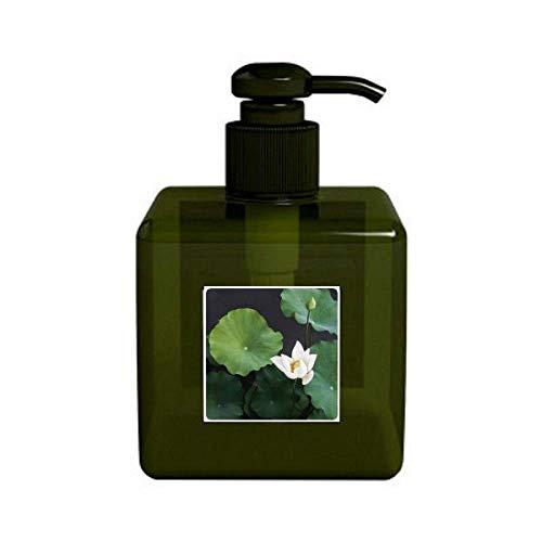 Nueva hoja de loto Plant Photo Nature - Bomba de botella para dispensador de jabón