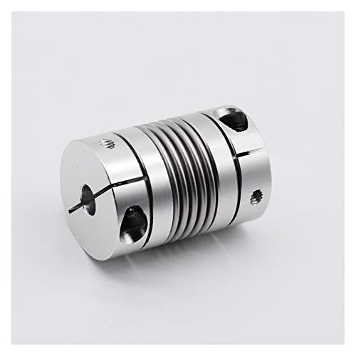 HLY-CASE Accoppiatore da 5 mm a 12mm Alluminio in Lega di Alluminio accoppiamento a Soffietto per Il tornio Connect Universale (Inner Diameter : LB B D25L38 12mm)