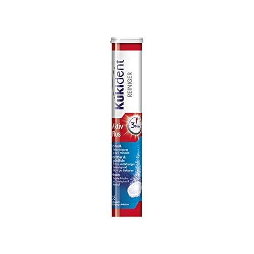 Kukident Aktiv Plus Zahnersatz-Reinigungstabletten (1 x 33 Stück)