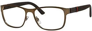 Gucci GG2251 Eyeglasses-0R42 Brushed Brown -55mm
