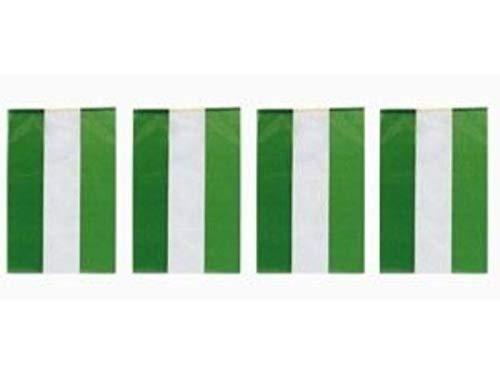 Bandera PLASTICO Andalucia, 50 MTS de la Marca INVERCAS, Multicolor, Único