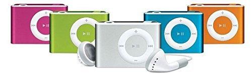 Clip de Metal Mini MP3 Player de 2GB 4GB 8GB Micro SD Negro