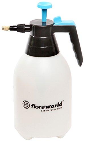Floraworld 011182 drukspuit comfort 2 l, 2 liter, blauw/zwart/wit, 18 x 13 x 32 cm