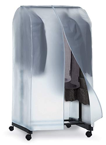 Domopak Living Custodia Copri-Stander, 50 x 95 x 160 cm, trasparente, plastica