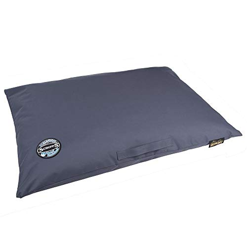 Scruffs Bed Expedition Water Resistant, Orthopaedic, Memory Foam, Pillow for Dogs, 100x70cm, Blue