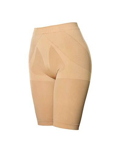 Cette Pantalon Moldeador, Faja Reductora Moldeadora, Faja sin Costuras, Braguitas Moldeadoras | Natural, Negro | S, M, L, XL, XXL (M, 1 X Pantalon - Natural)