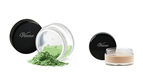 Veana Mineral Line Ombre à paupières Plus Eye Primer Pearl Lime, 1er Pack (1 x 10 g)