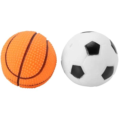 BESTDELI Pelota de Juguete para Perros, Bola de Sonido de Mascotas Play Entrenamiento de Perros Interactivo Pet Juguete Puppy Cat Rewards Pick Up Game Cat Dog Toys