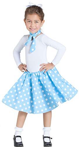 Banyant Toys, S.L. Falda Azul con Enagua Y Pañuelo