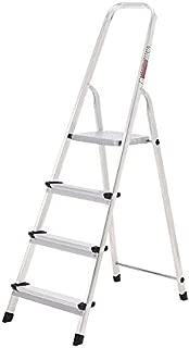 ORYX 23010002 - Escalera de  aluminio,  Doméstica,  4 pelda