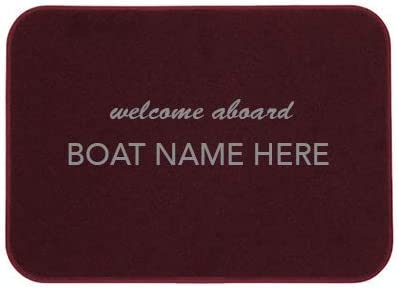 Max 55% OFF Cape Hatteras Personalized Mat Choice Boat