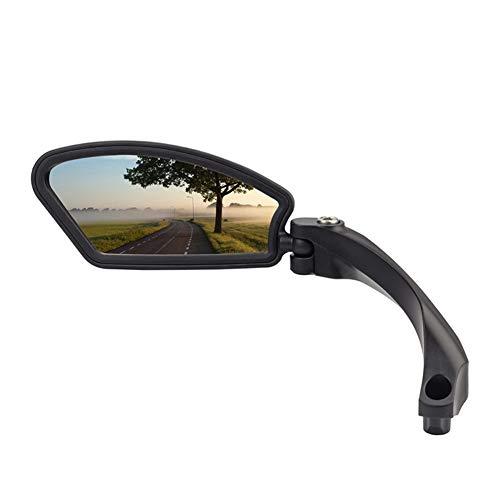 Fiets Achteraanzicht Spiegel, Mountainbike Achteraanzicht Spiegel Elektrische Fiets Spiegel, Stuur Fiets Spiegel Black Left side